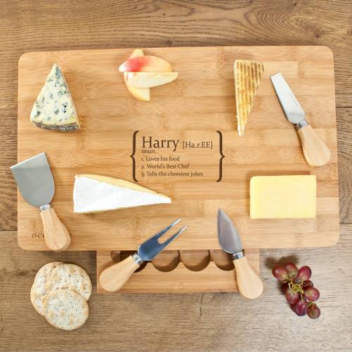 Your Definition Large Bamboo Cheese Board